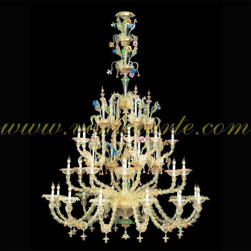 bach lustre en verre de murano. Black Bedroom Furniture Sets. Home Design Ideas