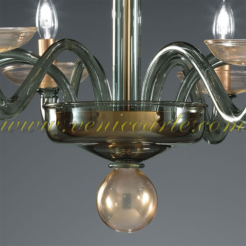 Diomedes Murano Glass Chandelier