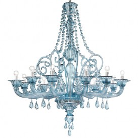 Sky - Murano glass chandelier