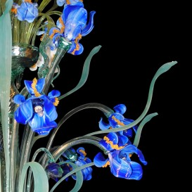 Iris Van Gogh - Murano chandelier with 28 lights detail
