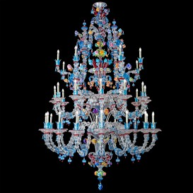 Strauss - Murano glass chandelier