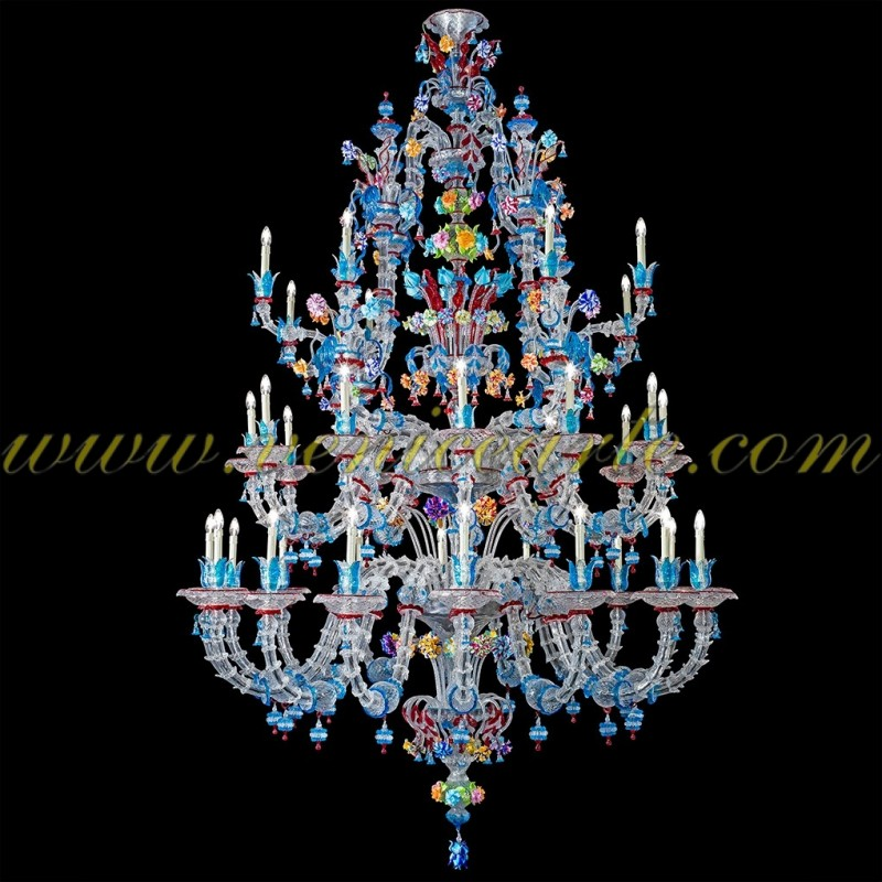 modern chandelier catalog lighting blue products murano chandeliers and glass green