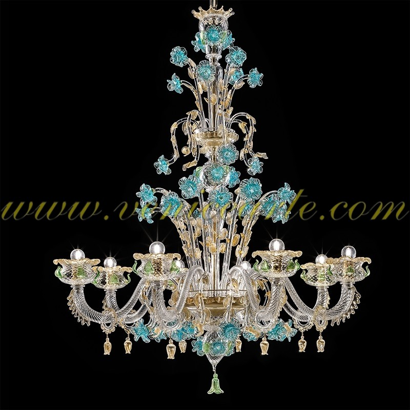 sigfrido l mpara de cristal de murano. Black Bedroom Furniture Sets. Home Design Ideas