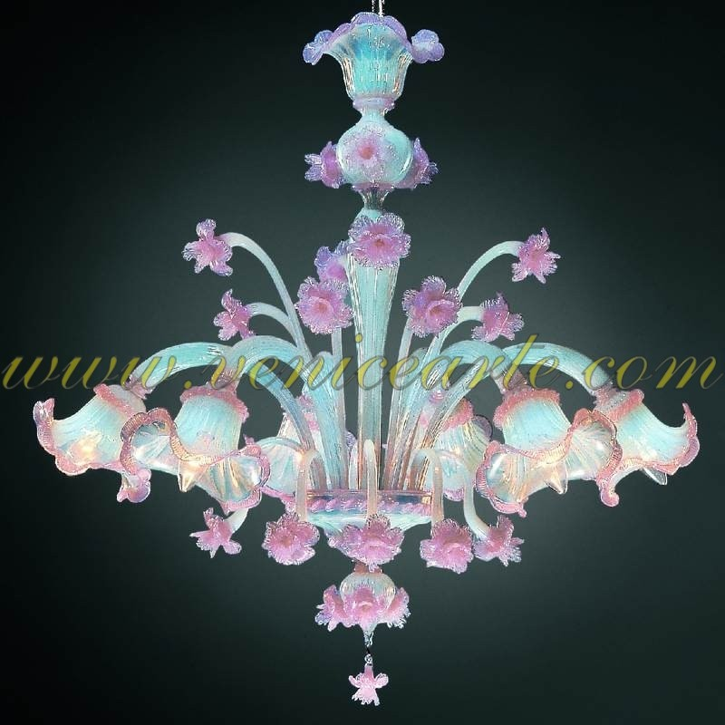 Pink Glass Chandelier Colombina murano glass chandelier colombina audiocablefo