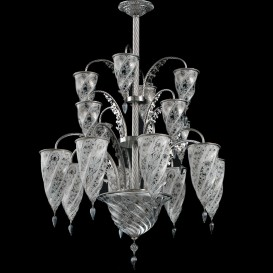 Nicosia - Murano glass chandelier