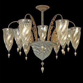 Medina Gold - Murano glass chandelier