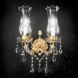 Hofburg - Maria Theresa crystal chandelier