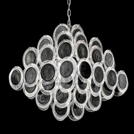 Circles - Murano glass chandelier