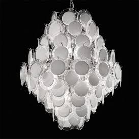 Wheels - Murano glass chandelier
