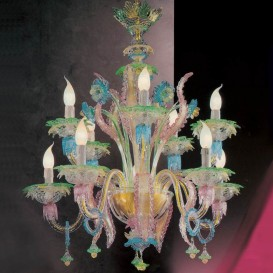 Sophia - Murano chandelier 10 lights