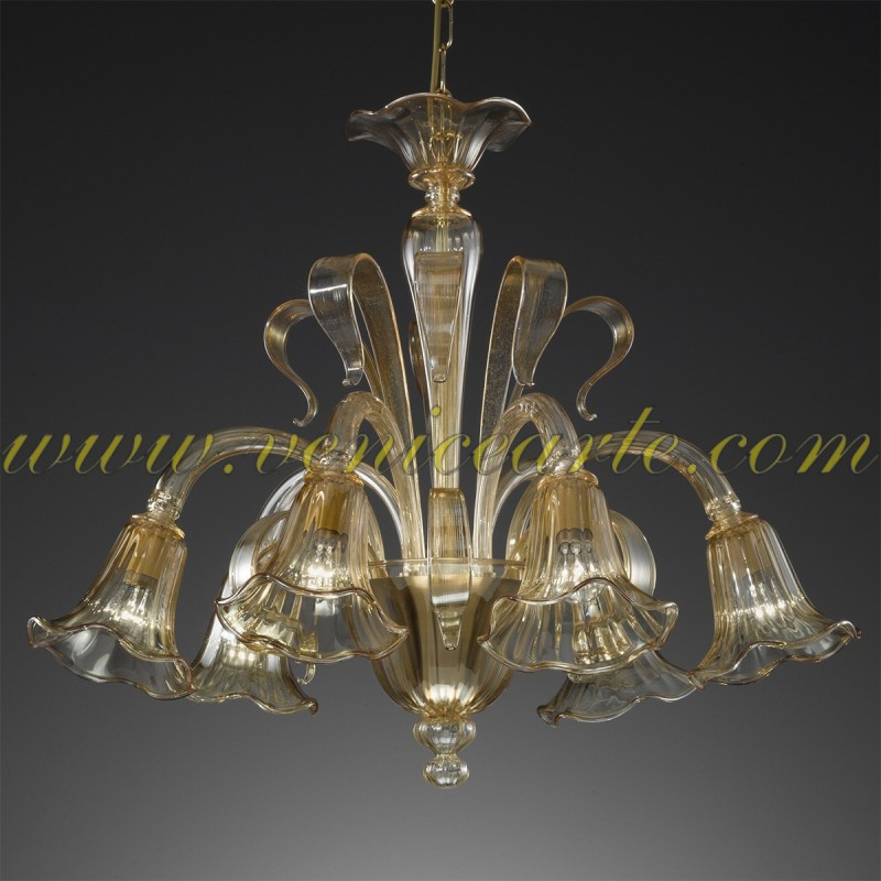 The best murano glass chandeliers at very low price venice arte calipso murano glass chandelier aloadofball Image collections