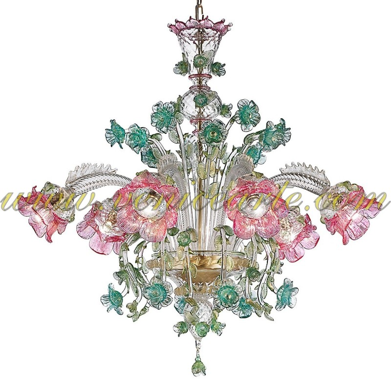 italian chandelier superb decaso vintage product glass murano chandeliers