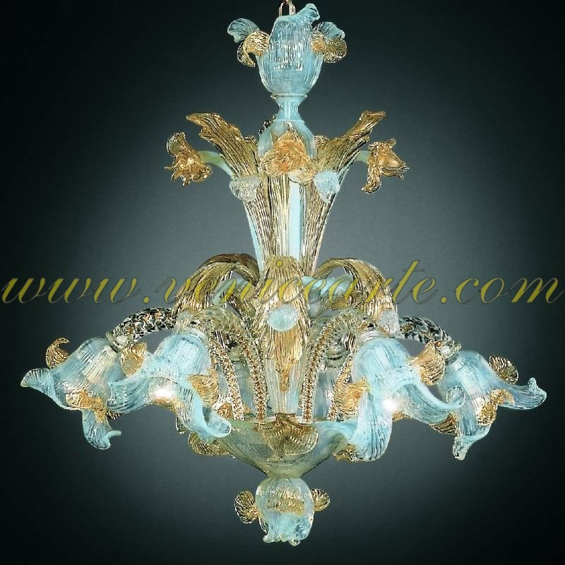Mori murano glass chandelier mori mozeypictures Gallery