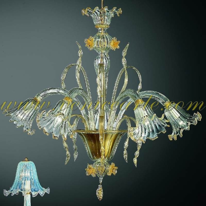tiepolo lustre en verre de murano. Black Bedroom Furniture Sets. Home Design Ideas
