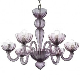 Malamocco - Murano glass chandelier