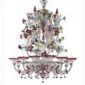 Canaletto - Murano glass chandelier