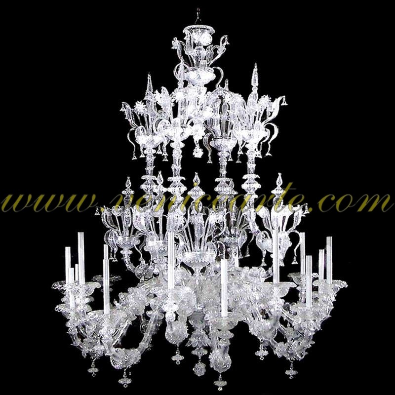 rezzonico cristal lustres en verre de murano. Black Bedroom Furniture Sets. Home Design Ideas