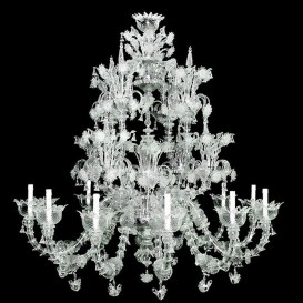Murano glass chandelier Fantastic Rezzonico 12 lights