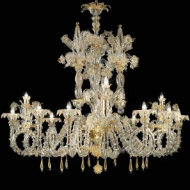 Hawalli - Murano glass chandelier 12 lights