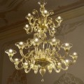 Lyon - Murano glass chandelier