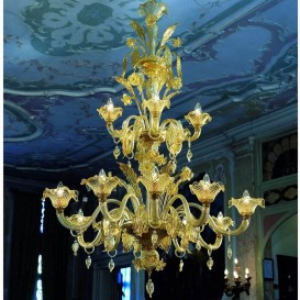 Murano glass chandelier Versailles 15 lights