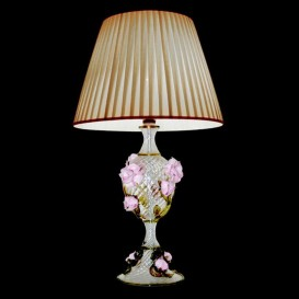 Murano Table lamp Roses