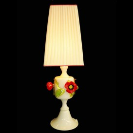 Murano Table lamp Poppies