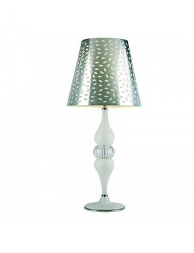 Table ronde en verre de Murano 904