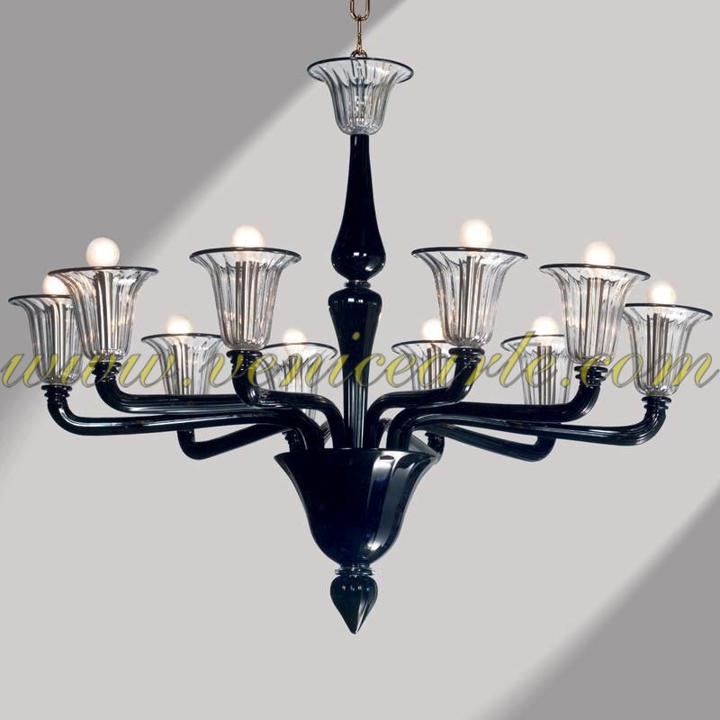palladio murano glass chandelier. Black Bedroom Furniture Sets. Home Design Ideas