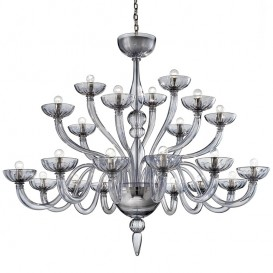 Murano chandelier Mantra 21 lights