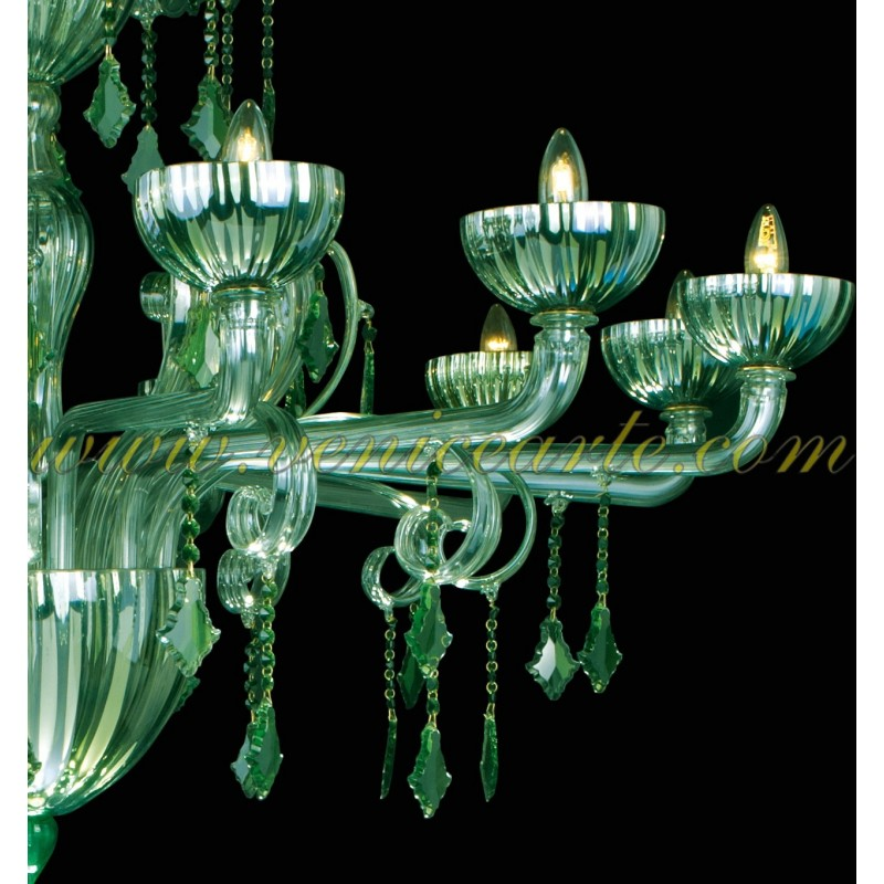 vignole murano glass chandelier. Black Bedroom Furniture Sets. Home Design Ideas