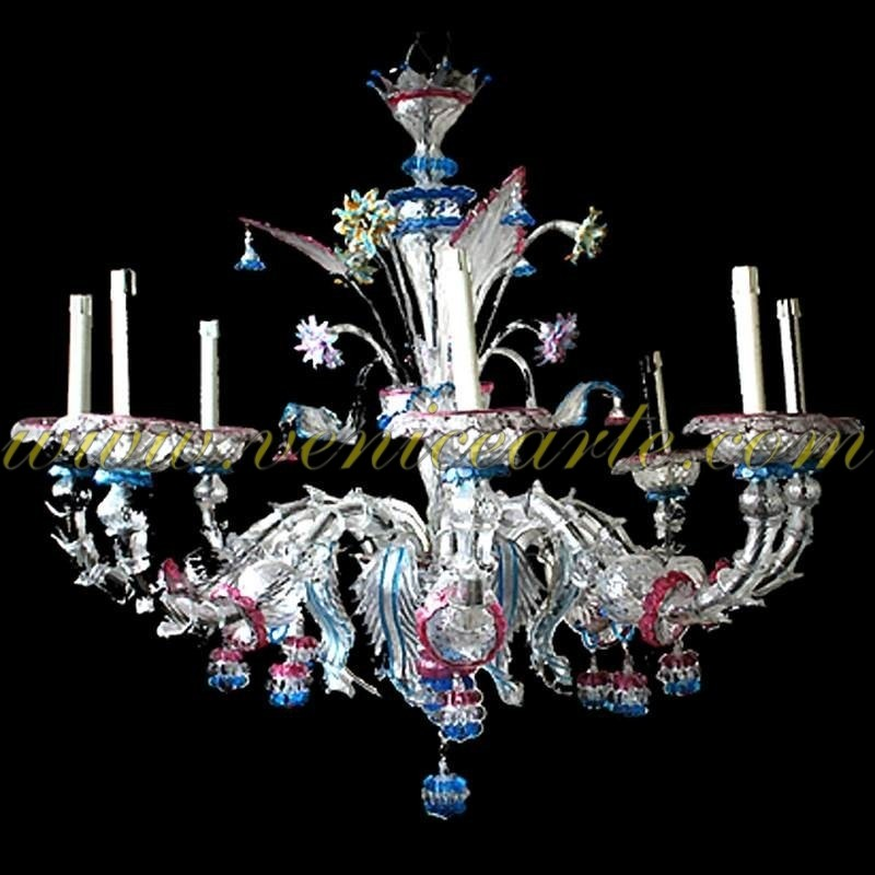 lustre en verre de murano ancien rezzonico casanova. Black Bedroom Furniture Sets. Home Design Ideas