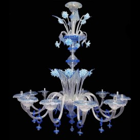 Venetian glass chandelier Ca' Vendramin