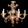 Fortunity - Venetian glass chandelier