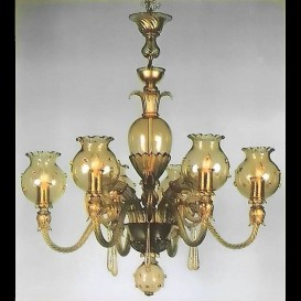 San Pantalon - Murano glass chandelier