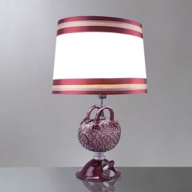 Murano table lamp Purple Bag