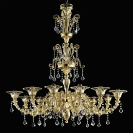 Jeddah - Murano glass chandelier