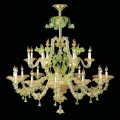 Circe - Murano glass chandelier