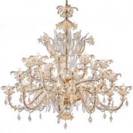 Luxury Murano chandeliers 24 lights Riyadh