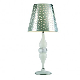 M516 - white Murano table lamp