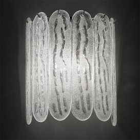 Cookie - Murano glass wall sconce 2 lights