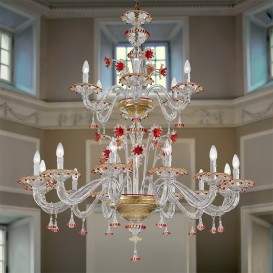 Sestriere - Murano glass chandelier