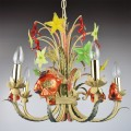 Goldfish - Murano glass chandelier