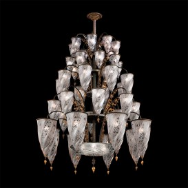 Agra - Murano glass chandelier