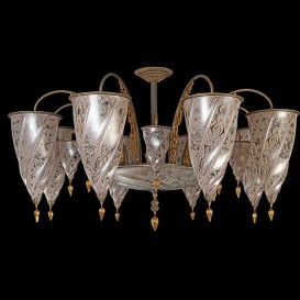 Damascus - Murano glass chandelier
