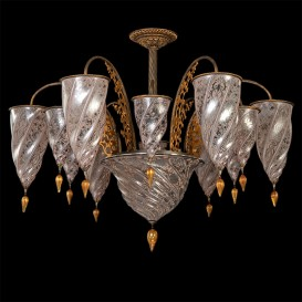 Medina - Murano glass chandelier