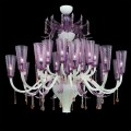 Breeze - Murano glass chandelier