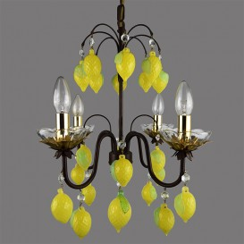 Lime - Murano glass chandelier