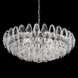 Poliedri - Murano glass chandelier