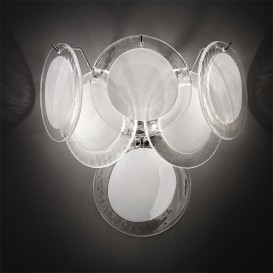 Wheels - Murano glass wall sconce